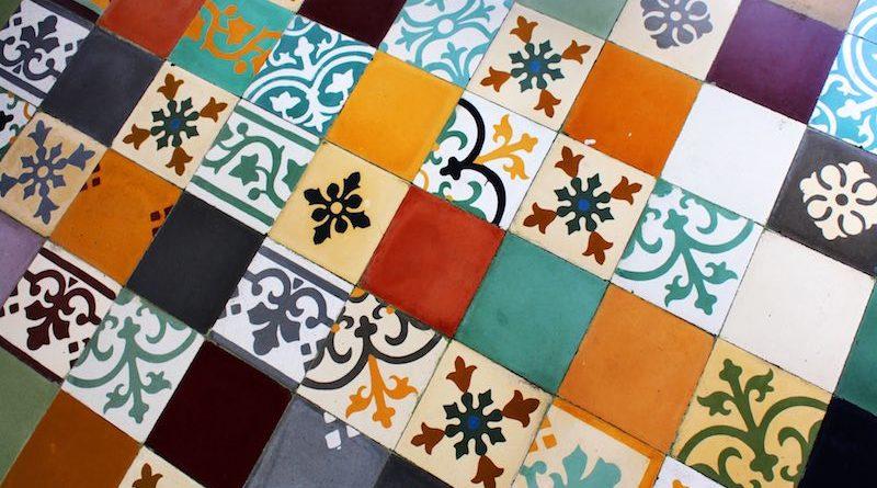 Carreaux de ciment mozaique