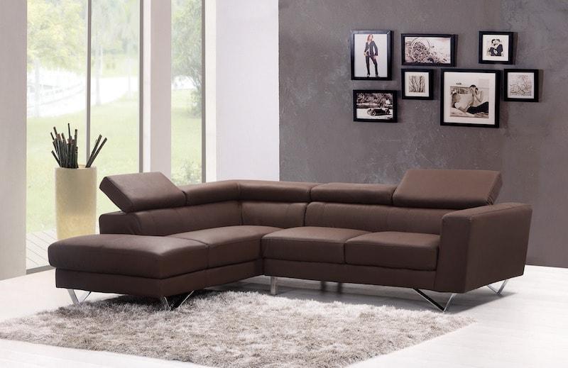 Conseils pour intégrer dans le salon son canapé d'angle
