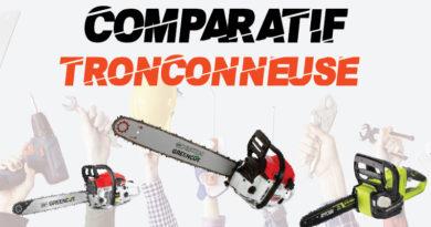 Comparatif tronçonneuse