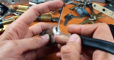 Les outils du serrurier