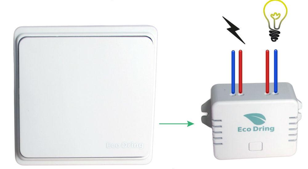 Se faciliter la vie avec l'interrupteur sans fil