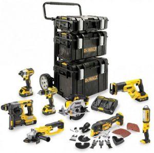 pack 8 outils dewalt