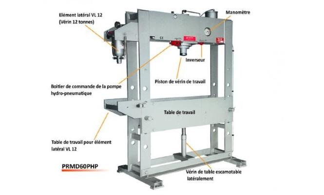 Description Presse D Atelier Hydraulique