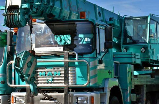 les camions grues
