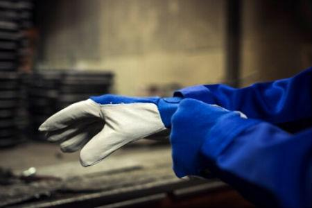gant travailler en sécurité