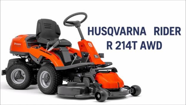 Tracteur Tondeuse Husqvarna Rider 214 Tc
