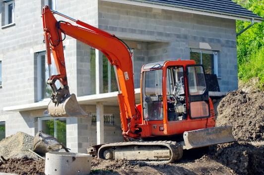 Travaux de terrassement : Optez pour une mini-pelle d'occasion