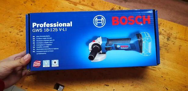 Reception Bosch Meuleuse Angulaire Sans Fil