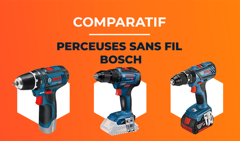 Les Meilleures Perceuses sans fil Bosch
