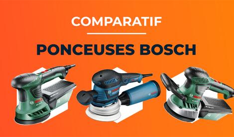 Les Meilleures Ponceuses Bosch